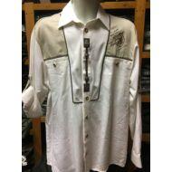 Trachten hímzett fehér ing