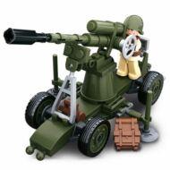Sluban  WWII légvédelmi ágyú