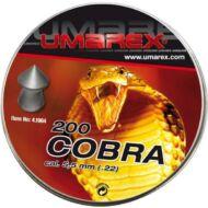 Léglövedék 5,5 Umarex Cobra hegyes/recés (200 db)
