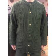 Kötött pulóver csontgombos 2XL