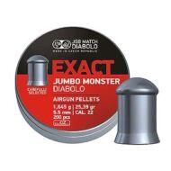 Léglövedék 5,5 JSB Exact Jumbo Monster (200 db)