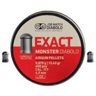Léglövedék 4,5 JSB Exact Monster (500 db)