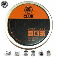 Léglövedék 4,5 RWS Club (500 db)