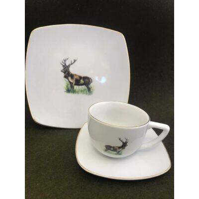 Porcelán kávés készlet 2 szett