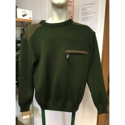 Merlin lóden rátétes pulóver
