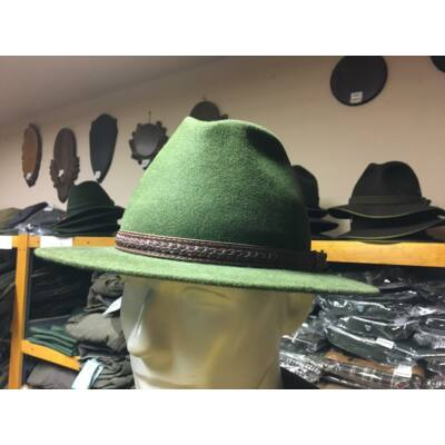 Kos kalap bőr szíjjal