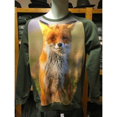 Gyerek rókás pulóver