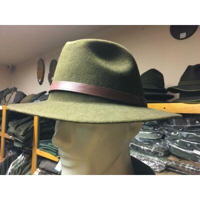 Hubertus kalap bőr szíjjal
