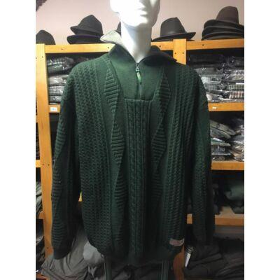 Merlin kötött, polárral bélelt pulóver