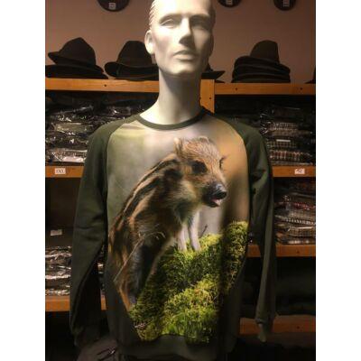 Gyerek vaddisznós pulóver