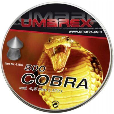 Léglövedék 4,5 Umarex Cobra hegyes/recés (500 db)