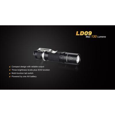 Fenix LD09 elemlámpa