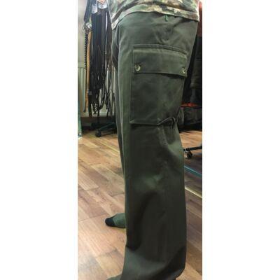Indiform pamut,bélelt oldalzsebes nadrág