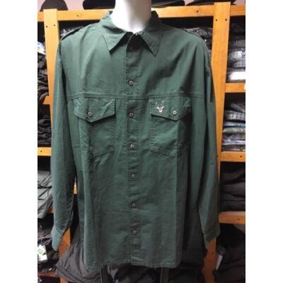 Sp. Jagd zöld vászon ing