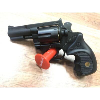 """Gáz riasztó fegyver Keserű Pitbull acéldobos 12mm 2""""-3"""""""
