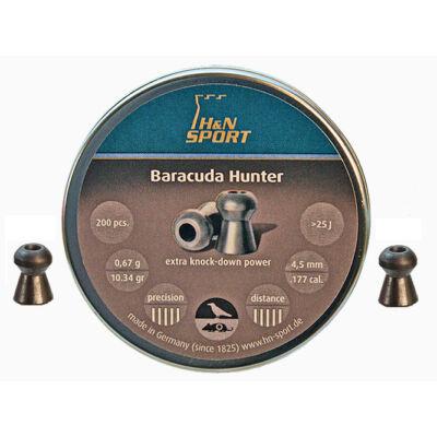 Léglövedék 4,5 H&N Baracuda Hunter (400db)