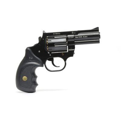 Keserű Pitbull gumilövedékes gáz-riasztó fegyver aluminium dobbal