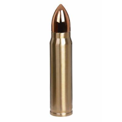 Lőszer alakú termosz