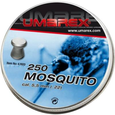 Léglövedék 5,5 Umarex Mosquito lapos (250 db)